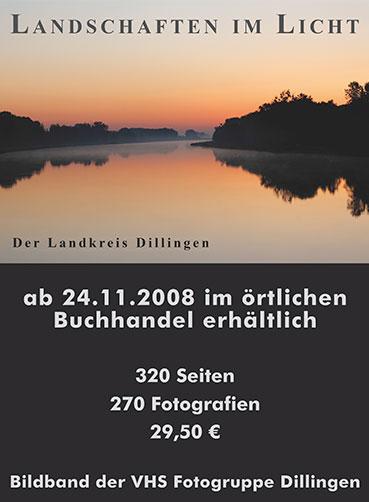 Plakat - Landschaften im Licht