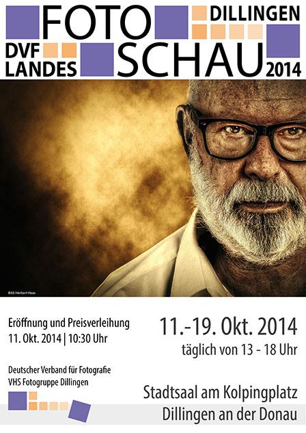 Plakat Landesfotoschau Bayern 2014