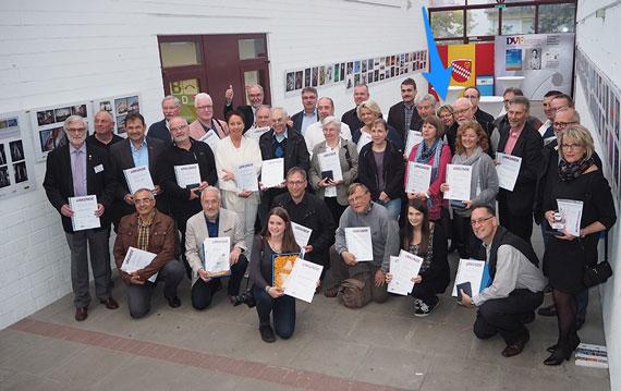 Gruppenfoto der Sieger zur Deutschen Fotomeisterschaft 2015