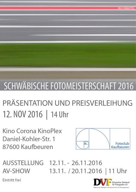 Schwäbische Fotomeisterschaft 2016