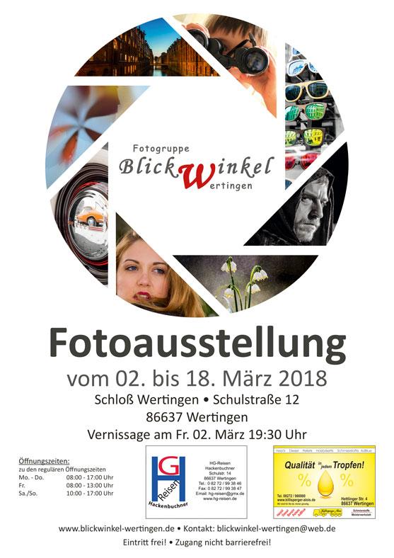 Ausstellung Fotogruppe Blickwinkel Wertingen